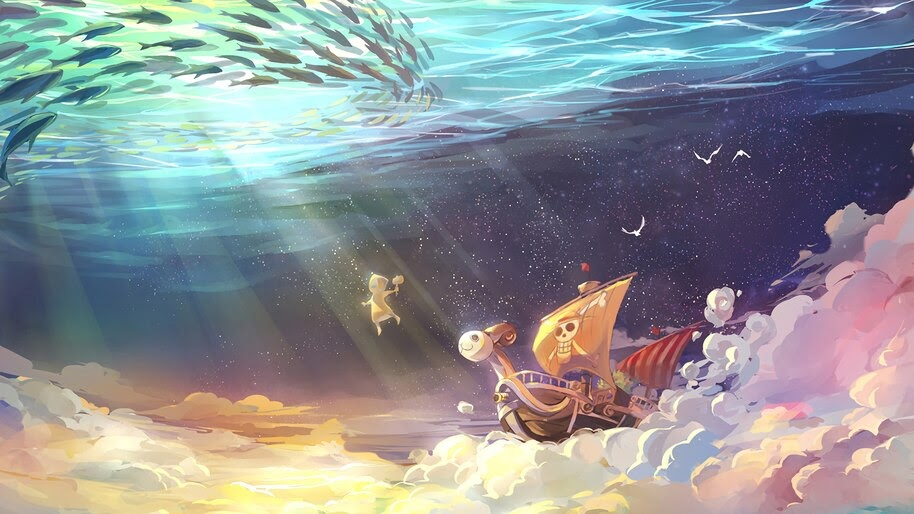 Going Merry, One Piece, 4K, #6.21