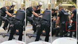Νέο βίντεο - ντοκουμέντο: Αστυνομικοί κλοτσούν και σέρνουν τον αιμόφυρτο Ζακ Κωστόπουλο