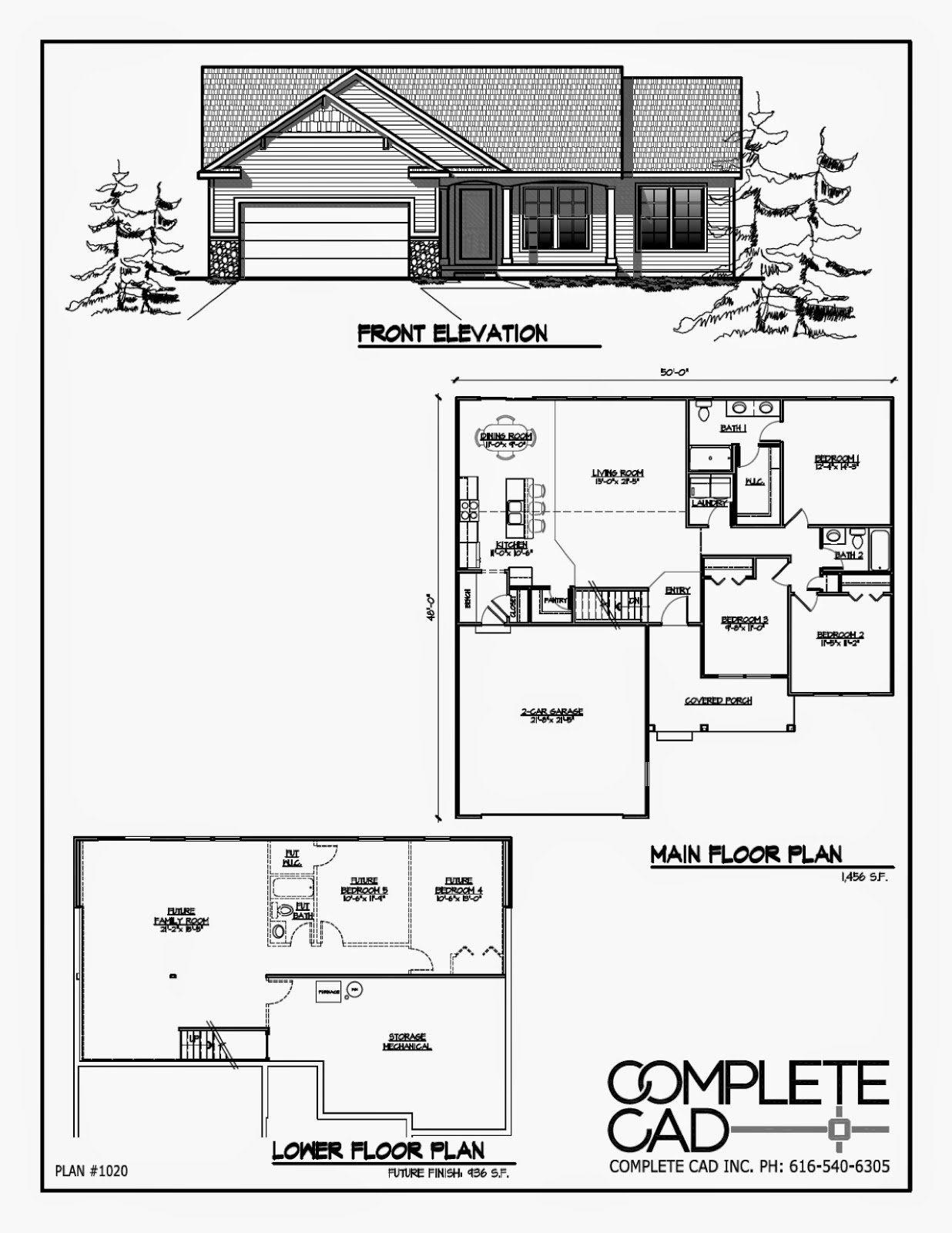 3 Bedroom Wheelchair Accessible House Plans