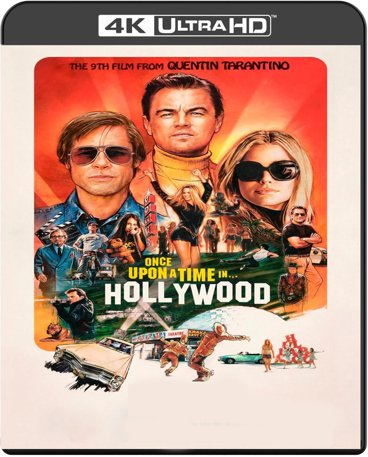 Once Upon a Time in… Hollywood [2019] [UHD] [2160p] [Latino]