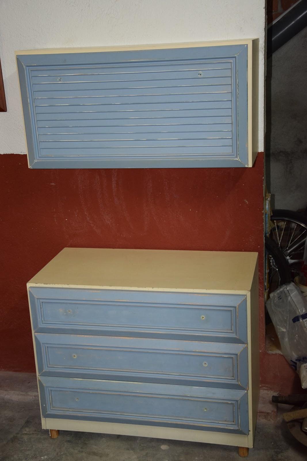El Mundo de YUYU: Restaurar muebles viejos en accesorios modular ...