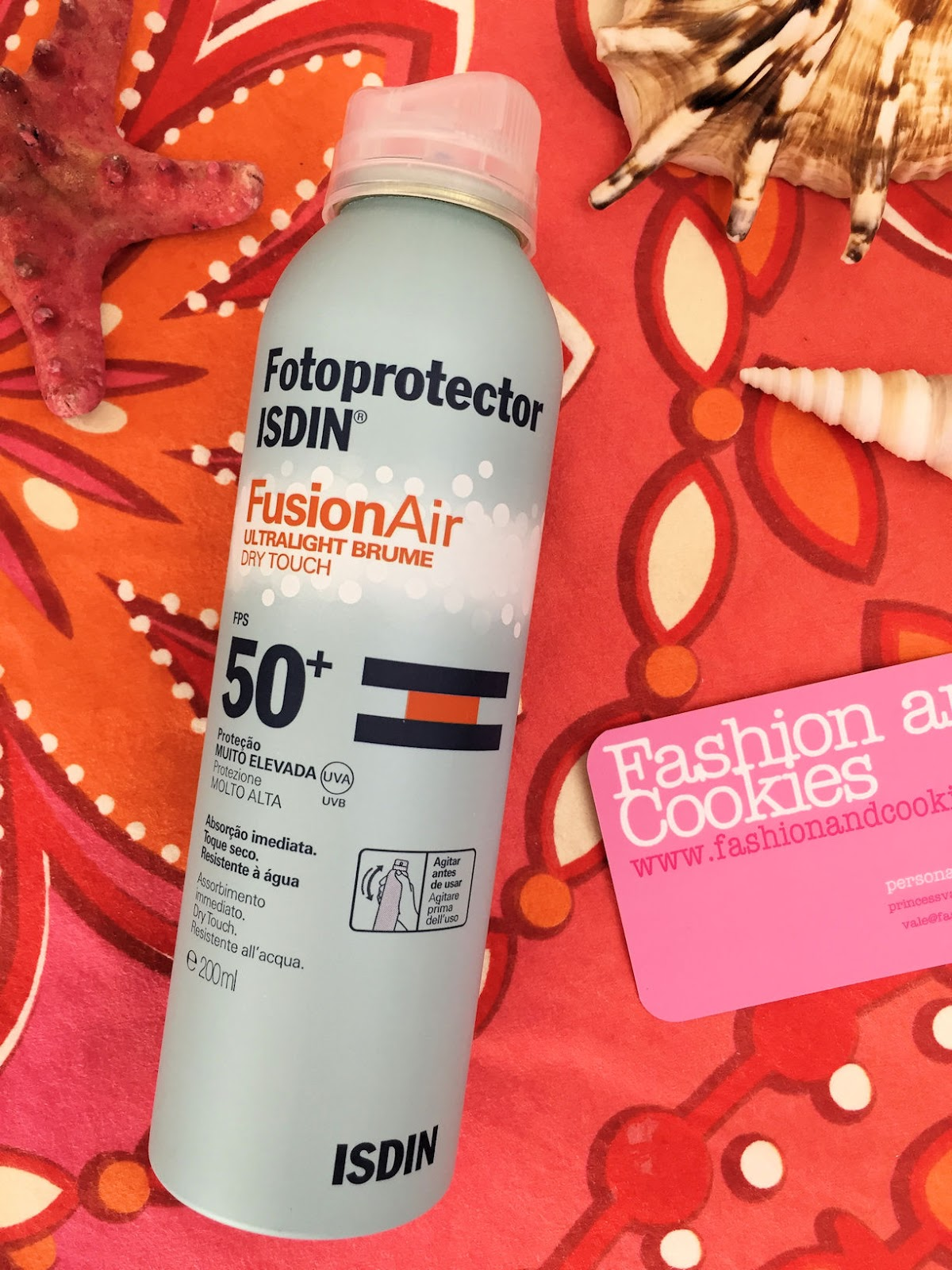 ISDIN Fotoprotector Fusion Air on Fashion and Cookies beauty blog, beauty blogger