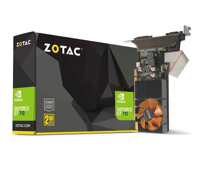 Zotac GT 710 2GB 64BIT DDR3 PCI-E Graphics Card
