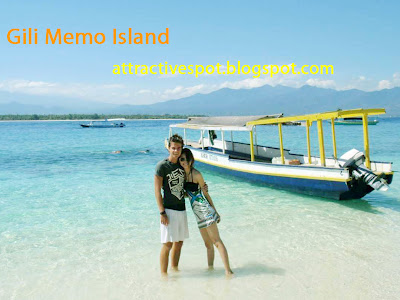 Attractive spot in Gili Island