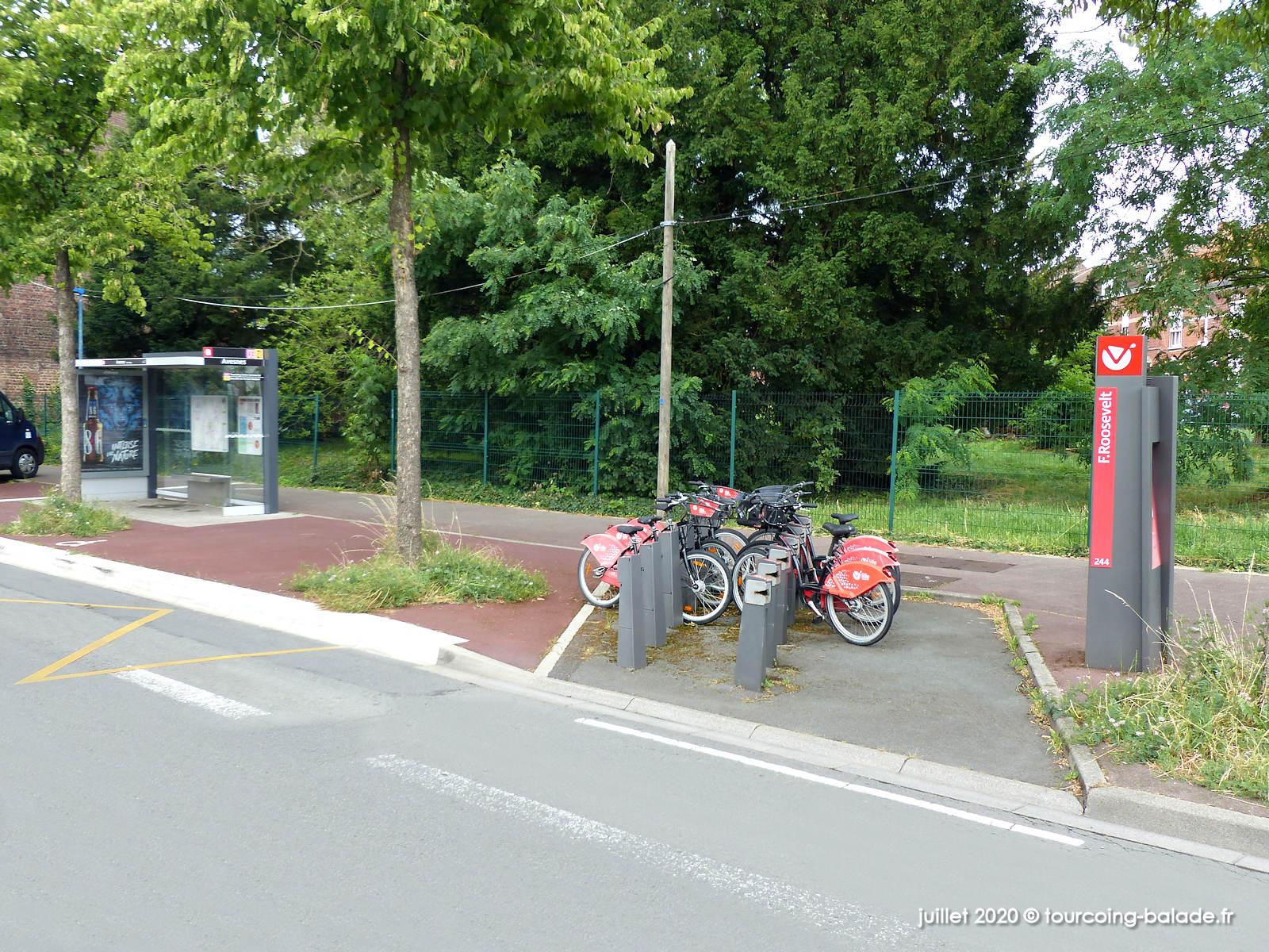 V'Lille Roosevelt et Bus Avesnes, Tourcoing 2020