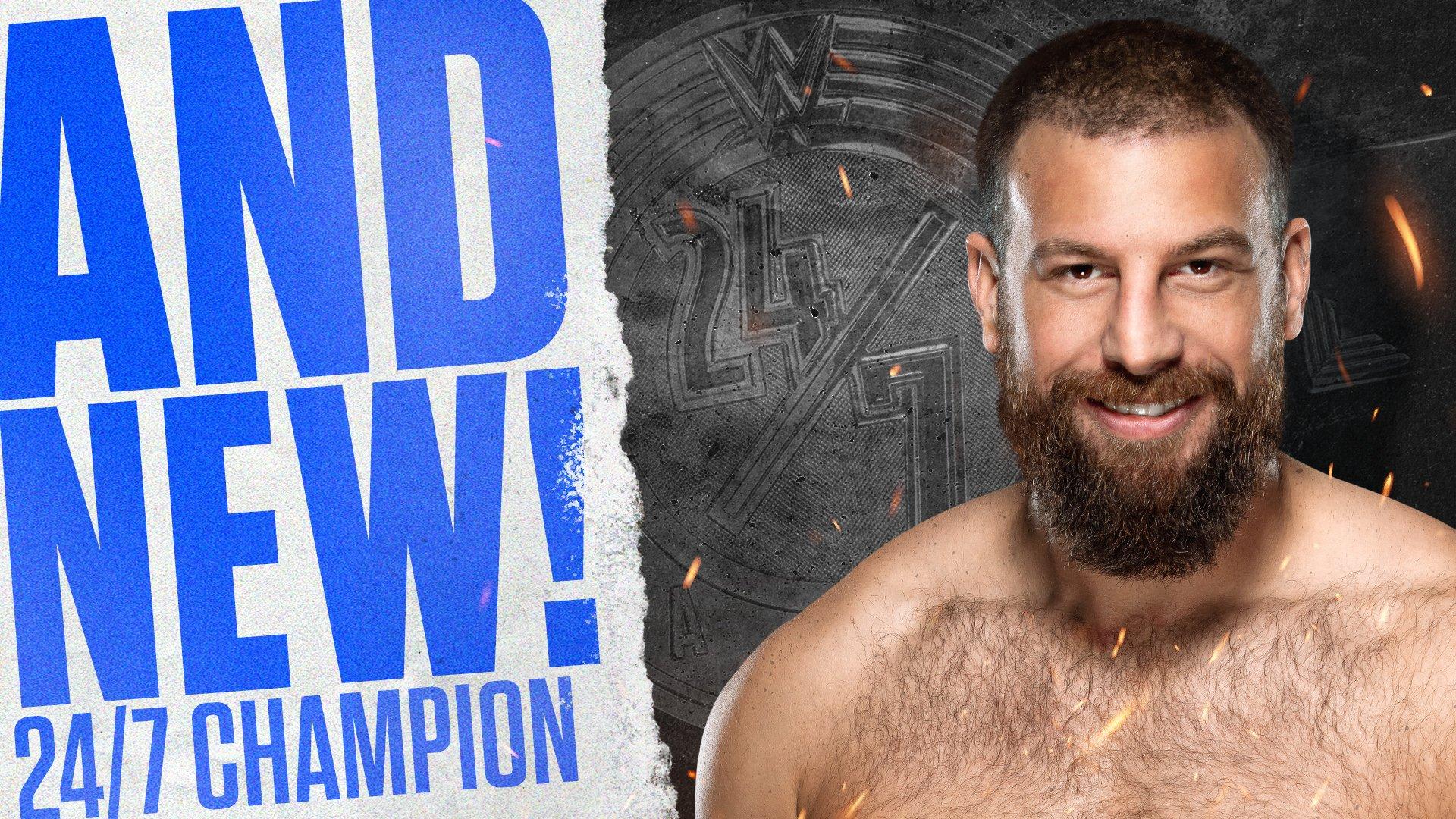 Drew Gulak se torna o novo WWE 24/7 Champion no Clash of Champions