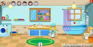 تحميل لعبة ماي تاون My Town APK جميع الاجزاء ماي تاون المنزل ،  المخبز