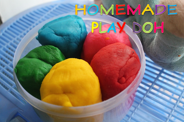 how to make play dough recipe without cream of tartar