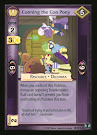 My Little Pony Conning the Con Pony Defenders of Equestria CCG Card