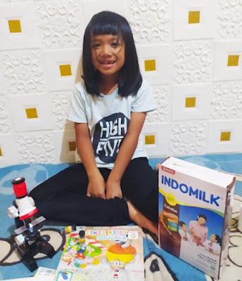 indomilk susu bubuk untuk usia 5-12 tahun