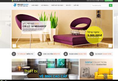 Thiết kế website bán đồ nội thất chuyên nghiệp giá rẻ