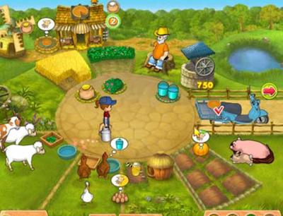 歡樂農場2中文版,好玩可愛又豐富的農場模擬經營!