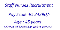 Staff nurse vacancy in goa medical college