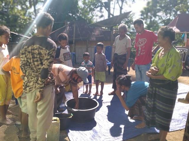Tananua Flores Fasilitasi Pelatihan Pasca Panen Kopi Arabika di Desa Randoria