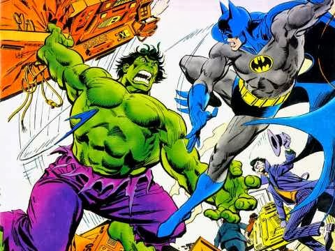 BATMAN VS. HULK