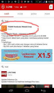 img 20160818 192424 Pulsa gratis Event tebakan pertandingan berhadiah dari Cashtree Updateterbaru