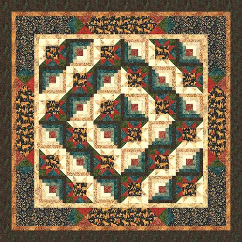 Flora & Fauna Quilt Pattern