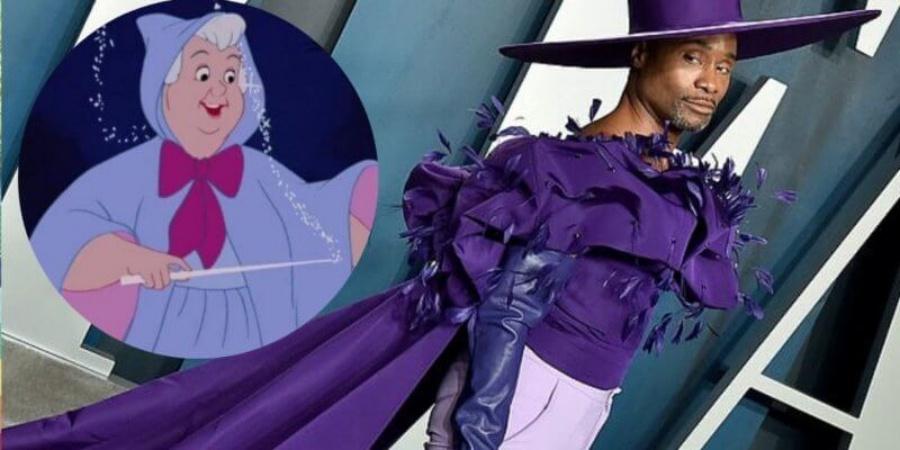 Billy Porter,  Genderless Fairy Godmother