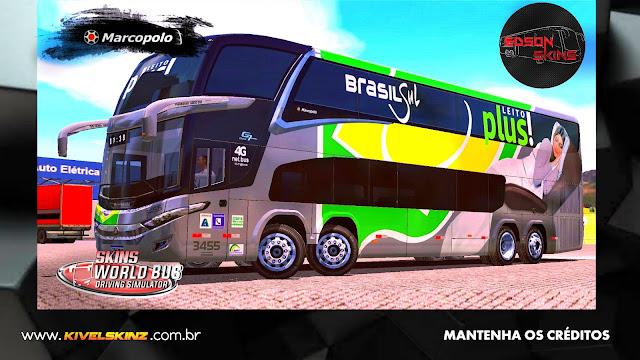 PARADISO G7 1800 DD 8X2 - VIAÇÃO BRASIL SUL