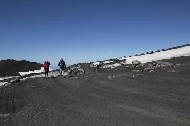 """Il """"belvedere"""" sulla valle del Bove-Vulcano Etna"""