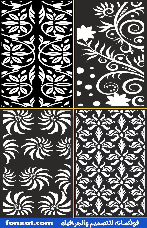 Seamless Floral Pattern Vintage Seamless Floral Pattern Free Trees Floral Laser Cut