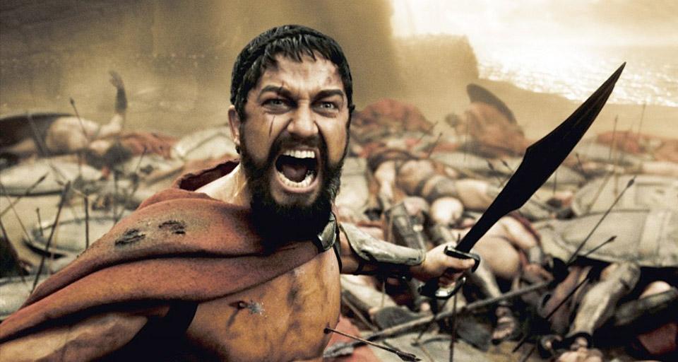 Кадр із фільму «З00 спартанців» (2006)