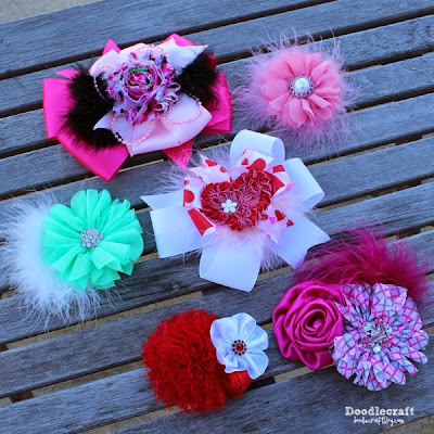 http://www.doodlecraftblog.com/2015/01/shabby-chic-boutique-hair-bows.html