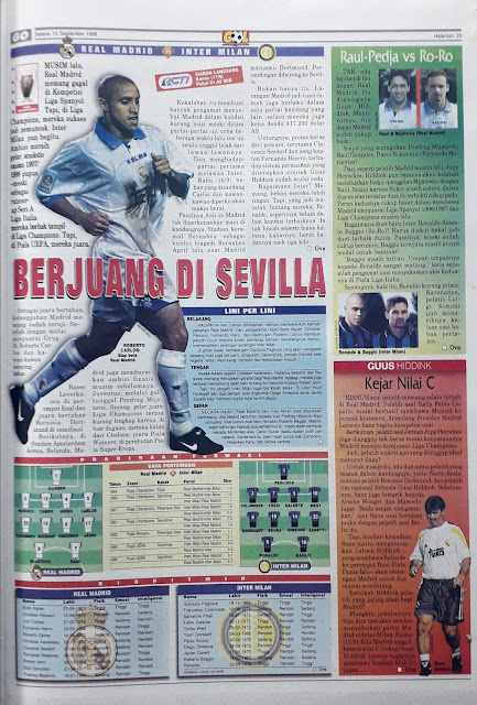 REAL MADRID VS INTER MILAN BERJUANG DI SEVILLA