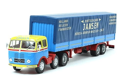 coleccion camiones articulados, camiones articulados 1:43, Mercedes-Benz LPS 333 camiones articulados