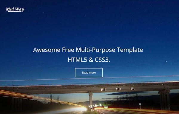 Free Templates  Highway HTML5