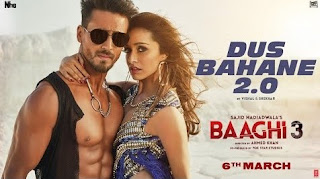 Dus Bahane 2.0 lyrics Hinglish - Baaghi 3