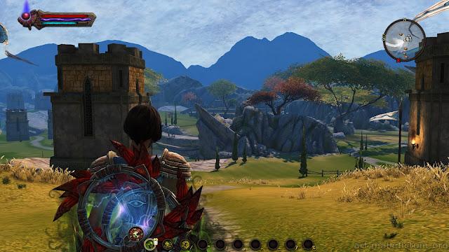 Kingdoms of Amalur: Reckoning - симпатичный пейзаж