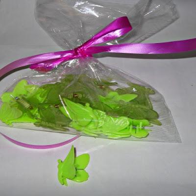 green butterfly hair clips Nairobi Kenya