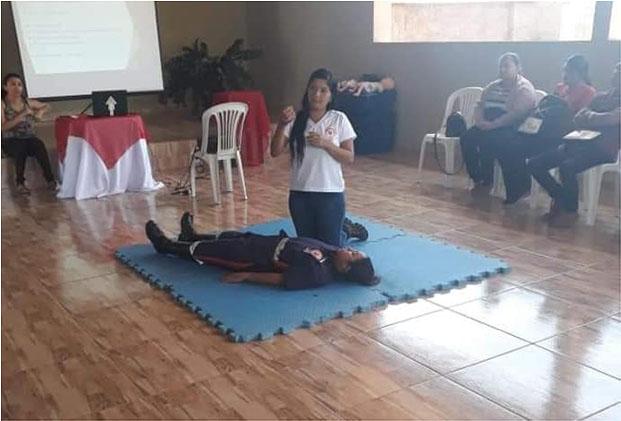 Guajeru: Equipe do SAMU 192 promove capacitações e ações educativas
