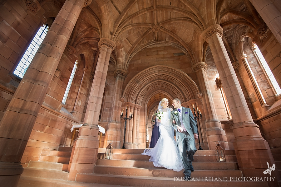 Crichton Church Dumfries Wedding