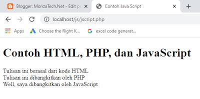 Memanfaatkan JavaScript dan jQuery Untuk Pemrograman Web