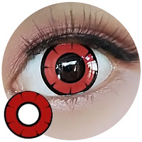 Halloween colored contact lense