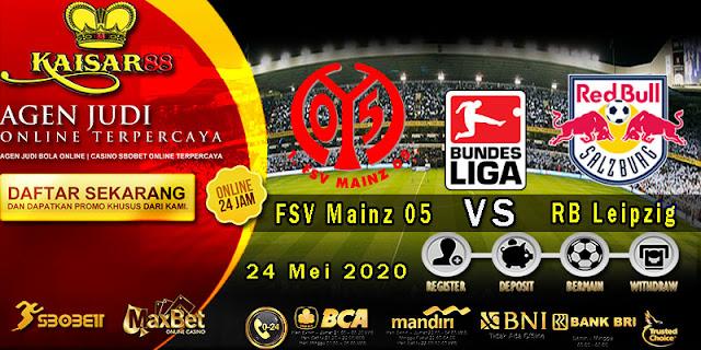 Prediksi Bola Terpercaya Liga German FSV Mainz Vs RB Leipzig 24 Mei 2020