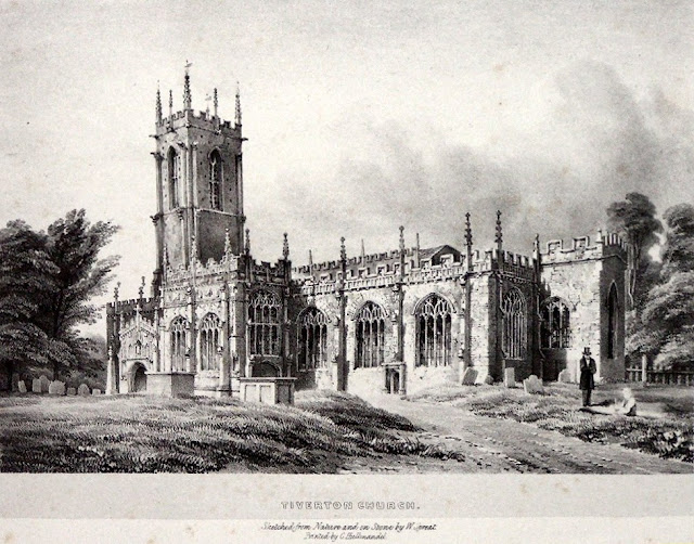 Illustration of St Peter's Church (1842)