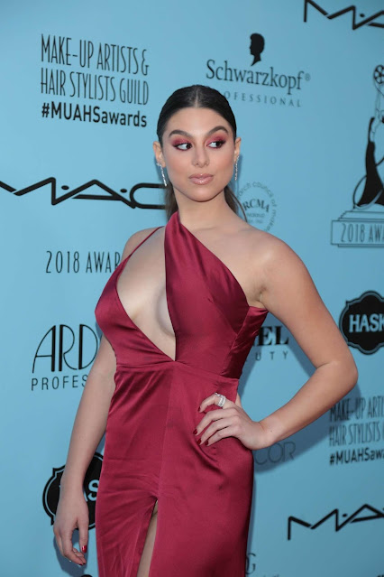 Kira Kosarin – 2018 Make-Up Artists and Hair Stylists Guild Awards in LA