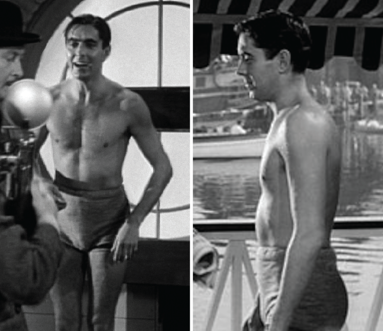 Tyrone power naked