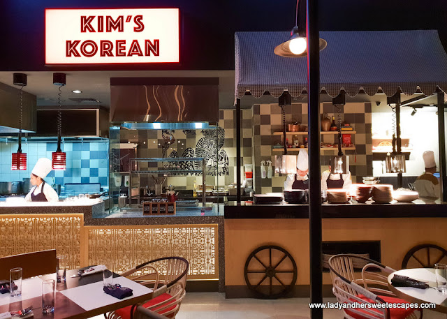 Kim's Korean in 24th St Dusit Thani Dubai