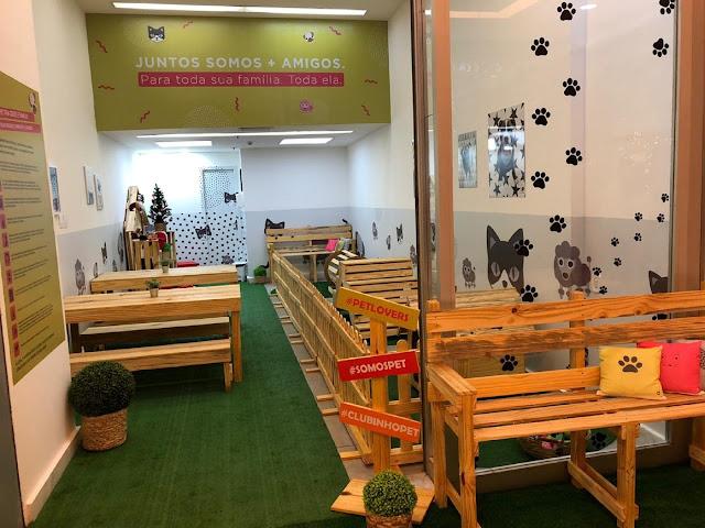 Estreando como Pet Friendly, Shopping Nova América realiza ação especial no 'Clubinho Pet'