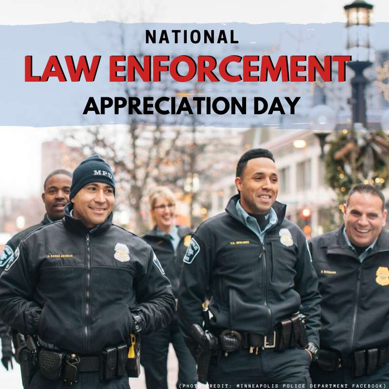 National Law Enforcement Appreciation Day Wishes for Instagram
