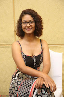 Actress Aditi Myakal Looks gorgeous in Sleeveless Deep Neck Top at Ami Tumi success meet ~  Exclusive 083.JPG