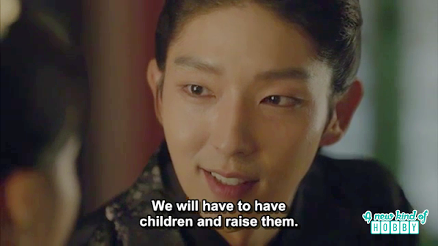 Wang soo about his future children to Hae soo - Scarlet Heart Ryeo - Episode 17 (Eng Sub)
