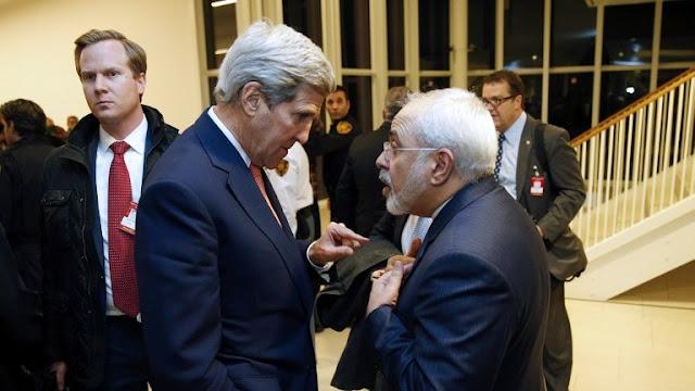 Kerry y Mohammad Javad arif
