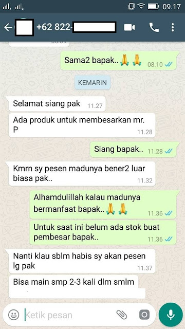 Cara alami agar pria kuat tahan lama dg madu super tonik Asli