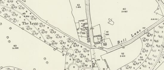 Scan of the 1898 25 inch OS map - from the Peter Miller Collection