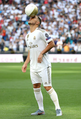 Presentación de Hazard en el Real Madrid